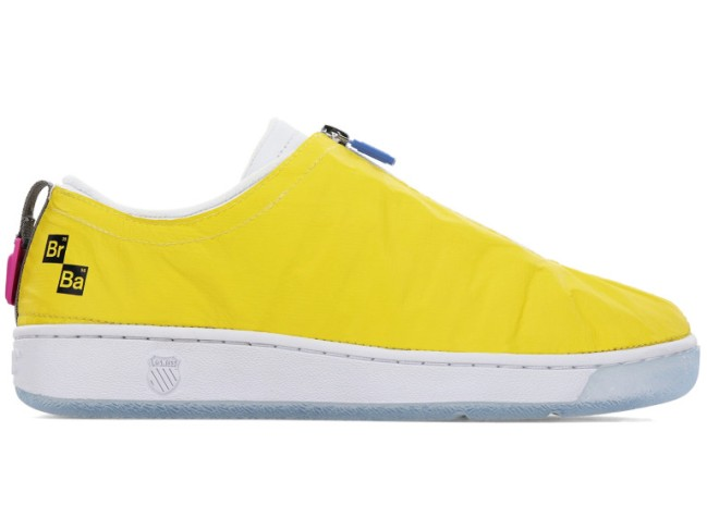 Breaking Bad Sneakers from K-Swiss including Recreational Vehicle, Cooking and Cleaning shoes.