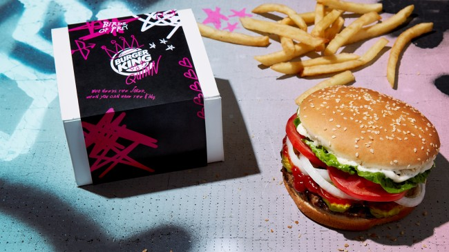 Burger King Valentine's Day Free Whoppers