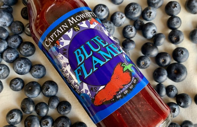 Captain Mowatt's Blue Flame Hot Sauce