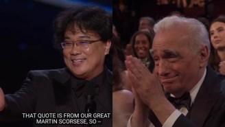 Martin Scorsese, The Legend That He Is, Sent Bong Joon Ho An Epic Congratulatory Letter