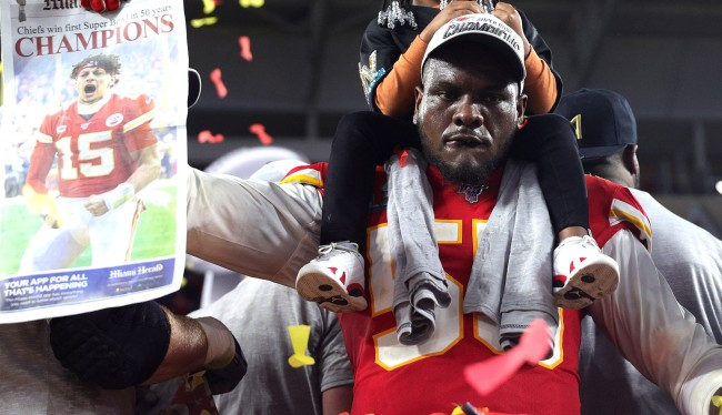 Chiefs Frank Clark Rips Jimmy Garoppolo Says Patriots Dynasty Dead