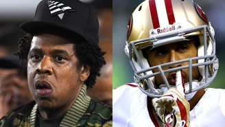 Colin Kaepernick Puts Jay-Z On Blast For Hypocritically Sitting During The National Anthem After Suggesting Kneeling Is Pointless