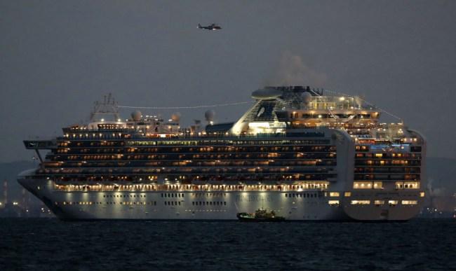 cruise ship quarantined japan coronavirus