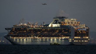 3,700 People Are Forbidden From Leaving A Cruise Ship In Japan Where A Passenger Tested Positive For Coronavirus