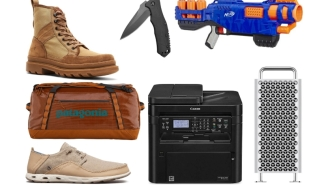 Daily Deals: Apple Mac Pro, Furniture, Nerf Guns, Travel Gear, Frye Boots, Eastbay Special, Express Sale And More!
