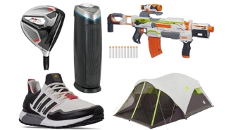 Daily Deals: Golf Equipment, NERF Guns, 6-Person Tents, Home Filters, Finish Line Sale And More!