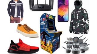 Daily Deals: Canvas Sneakers, Snowboard Gear, Spring Jackets, Samsung A50, 4-Foot Arcade Cabinet, Foot Locker Sale And More!