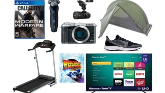 Daily Deals: $450 70-Inch TVs, iPads, Dash Cams, Treadmills, Mirrorless Digital Cameras, Hoka And Nike Sneaker Sale And More!