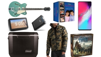 Daily Deals: Weighted Blankets, Reusable Notebooks, Gretsch Electromatic Guitars, Burton Outerwear, North Face Sale And More!