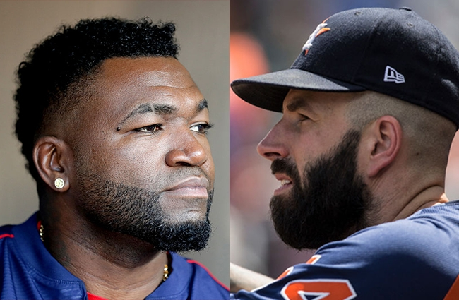 david ortiz mike fiers astros comments