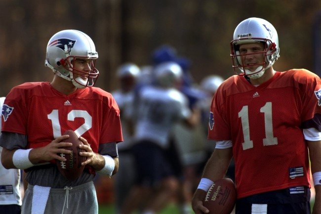 Former Patriots QB Drew Bledsoe talks about the perceived tension between Tom Brady and Bill Belichick, and why Brady thrives off it