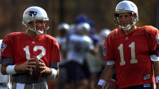 Drew Bledsoe Didn't Think Tom Brady Would Become An NFL Starter, Thought He Would Be A Career Backup