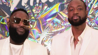 Rick Ross Tapped Dwyane Wade To Drop A Verse On His Newest Song And It's Actually Pretty Fire