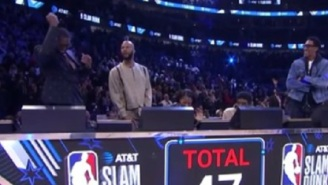 Dwyane Wade Appears To Have Tricked Dunk Contest Judges And Conspired To Screw Aaron Gordon To Allow Miami Heat's Derrick Jones Jr To Win