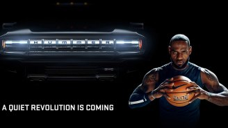 LeBron Teases New Electric 1,000 HP Hummer That Zooms 0-60 In 3 Seconds For GM's Super Bowl Commercial