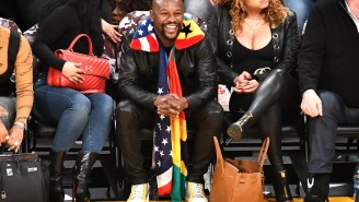 Floyd Mayweather, Who 50 Cent Says Is Broke, Thinks He Should Have Been Named Athlete Of The Decade, Not LeBron