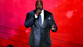 Shaq Is Using Instagram To Sell His LA Mansion With Artwork Honoring Iconic Rappers