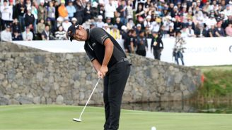 Byeong Hun An Drives The First Green At WGC-Mexico Championship Then Proceeds To Four-Putt From 25 Feet