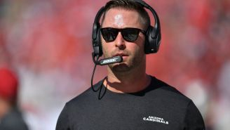 Kliff Kingsbury Legitimately Thought He Might Get Fired During The First Half Of His First Game With The Cardinals