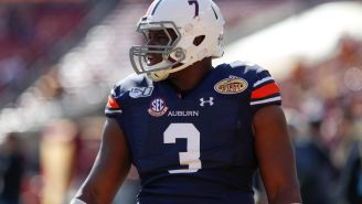 Auburn's Marlon Davidson Says He Loves Football Because He Can Hit Guys Consistently 'And The Police Won't Come'