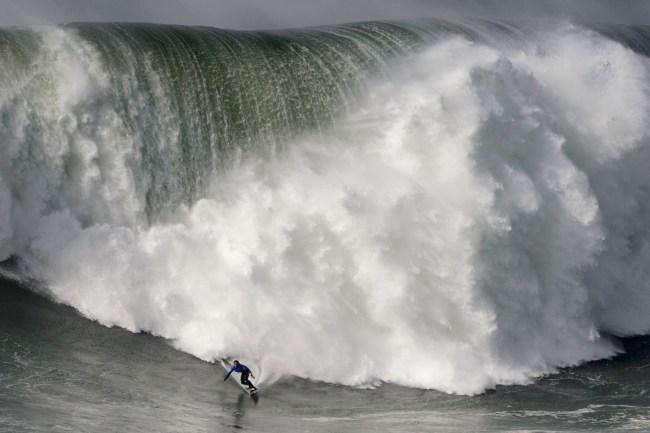 Kai Lenny Wins 2020 Nazare Tow Surfing CHallenge