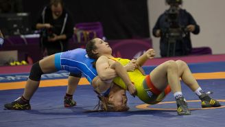 12-Year-Old Girl Heaven Fitch DESTROYS The Boys In Wrestling State Championship
