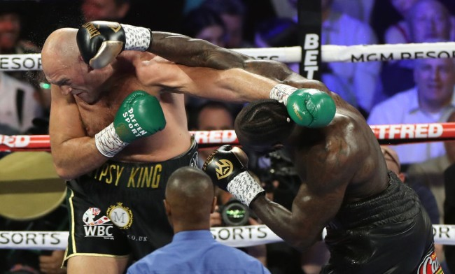 President Donald Trump wants to invite Deontay Wilder and Tyson Fury after their epic rematch at the MGM Grand.