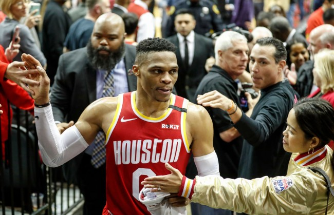 russell westbrook ejected warriors