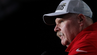 Andy Reid Couldn't Wait To Celebrate His Super Bowl Win With The 'Biggest Cheeseburger You've Ever Seen'