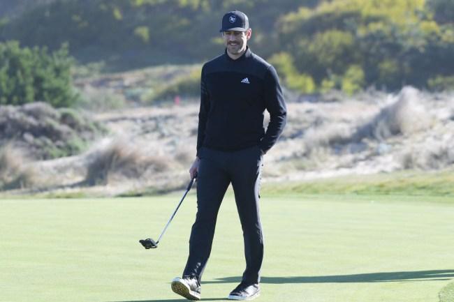 aaron rodgers golf