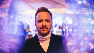 Aaron Paul's Secluded Idaho Mansion Has A 13-Ton Hearthstone, Whiskey Lounge, And Movie Theater