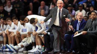 Roy Williams Curses Following Loss At Notre Dame, That's How Bad This North Carolina Season Has Become