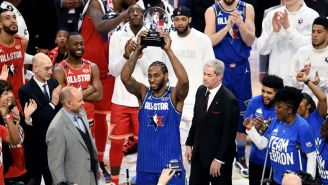 Kawhi Leonard Shares Classic Kobe Bryant Story In Typical Kawhi Fashion After Being Named MVP At The All-Star Game