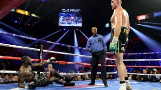 Deontay Wilder Floats Wild Conspiracy Theory On How Trainer Mark Breland May Have Worked With Tyson Fury's Camp To Throw In The Towel