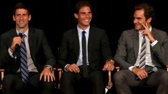 Novak Djokovic Admits He Has A Secret 'Big 3' Group Chat With Rafael Nadal And Roger Federer