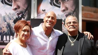 Dwayne 'The Rock' Johnson Fights Back Tears To Deliver Emotional Eulogy To His Wrestler Father Rocky 'Soulman' Johnson