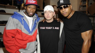 LL Cool J Celebrates Friendship With Eminem And Dr. Dre With Old School Jacket