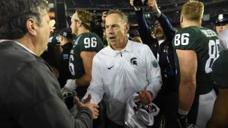 Mark Dantonio Steps Down At Michigan State Exactly One Day Before National Signing Day