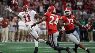 Alabama's Henry Ruggs III Is Tearing Up The NFL Combine And Also May Be Superhuman