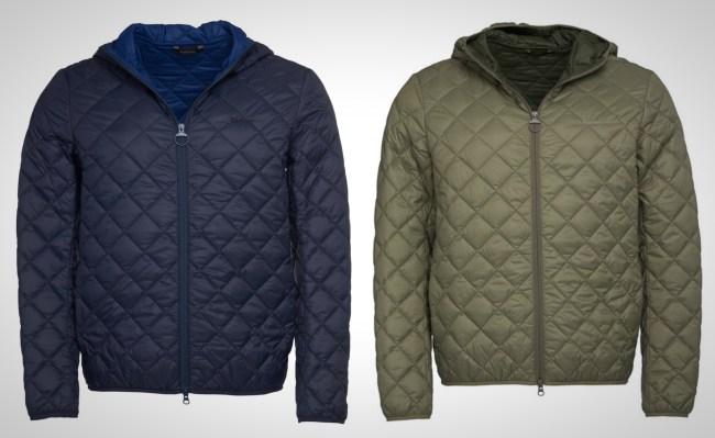 Barbour Holg Quilted Hood Jacket for Men