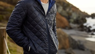 This Is A Damn Fine Looking Jacket That's Perfect For This Time Of Year