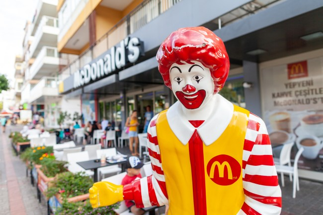 McDonald's Ronald Clown