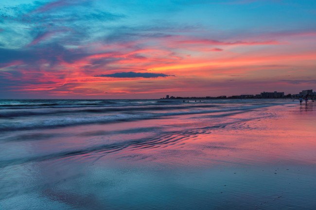 Siesta Key Beach sunset