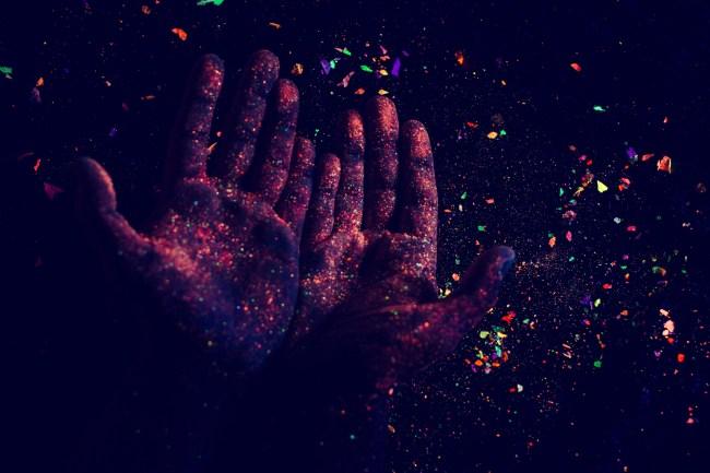tripping balls psychedelics hands LSD acid