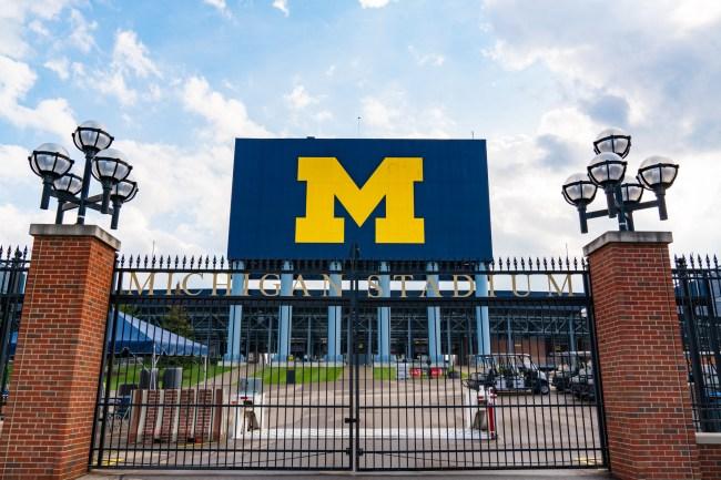University of Michigan Football Team Stadium