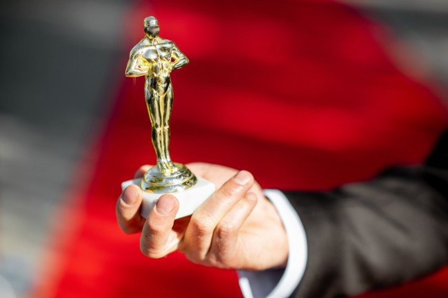Academy Awards Oscars gold statue