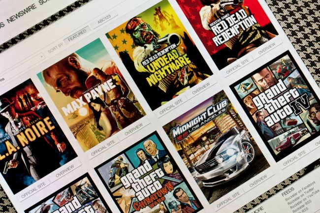 Rockstar Games changes website and logo, causing rumors that GTA 6 or Bully 2 is being released this year.