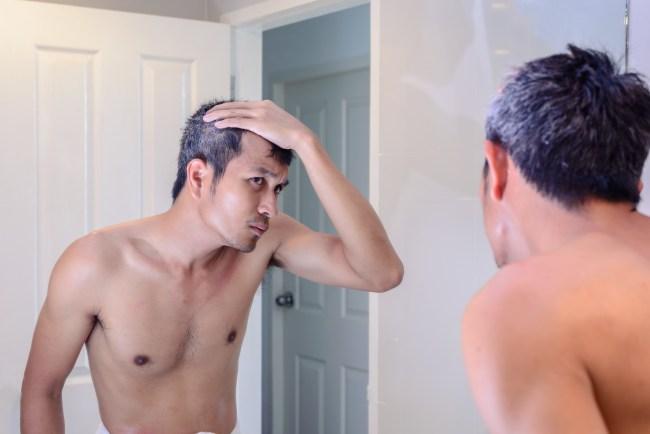 stress causing grey hair