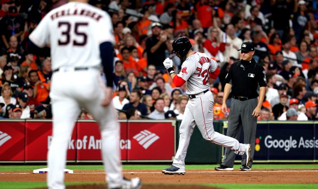 JD Martinez Says Fiers Warned Him About Astros Cheating In 2018 ALCS