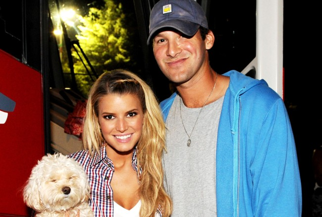 Jessica Simpson Tony Romo Dumped Her By E-Mail Thought She Cheated